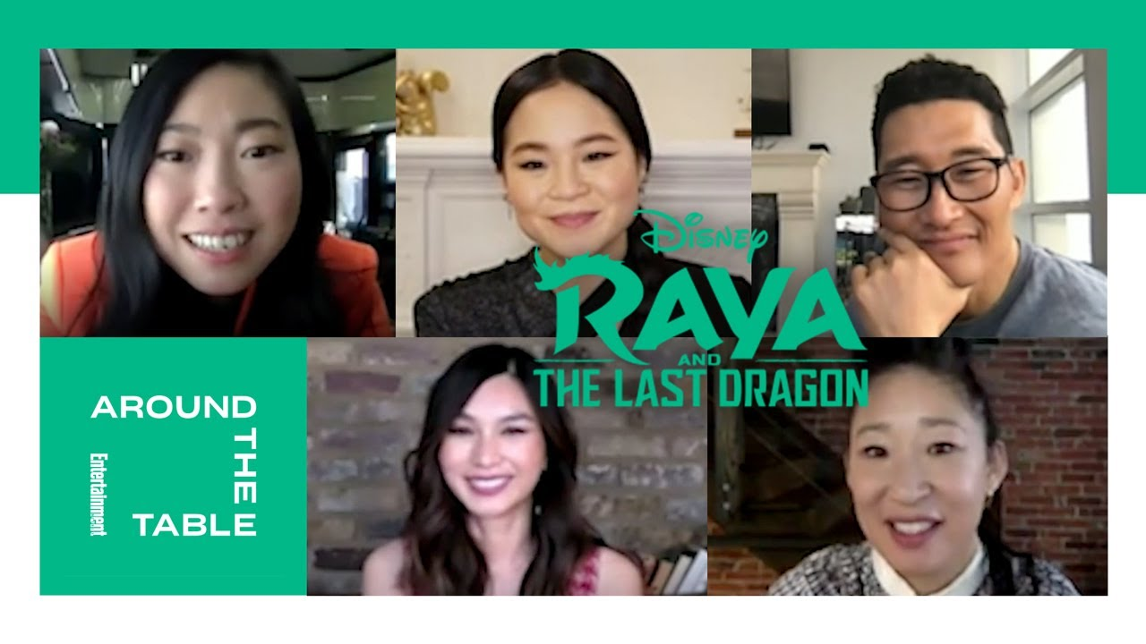 'Raya and the Last Dragon' Voice Actors Interview | Around the Table