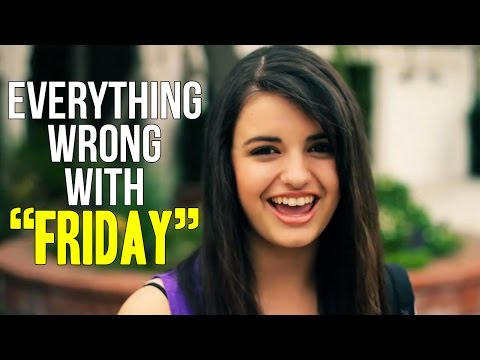 """Everything Wrong With Rebecca Black - """"Friday"""""""