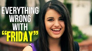 Repeat youtube video Everything Wrong With Rebecca Black -