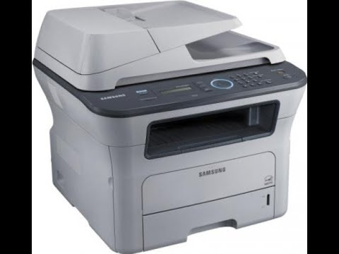 Samsung SCX-4828FN SCX-4824FN  Print Supplies Information And Configuration