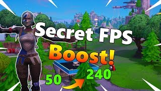 Secret Trick To Boost FPS On All Platforms! - Fortnite (Season 9)