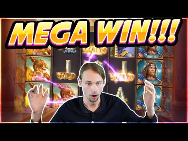 HUGE WIN! Divine Showdown Big win - Casino Game from Casinodaddy Live Stream