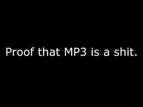 MP3 vs OGG @64Kbps. **loud music**