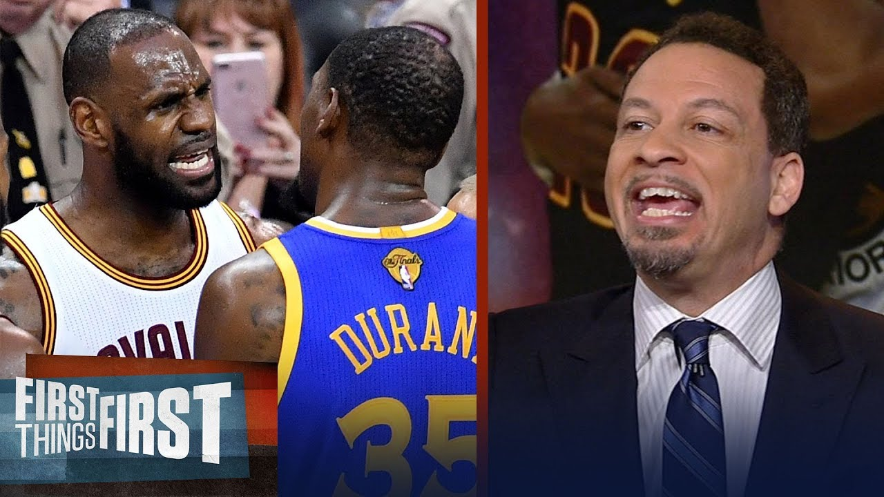 14954a505f8 Chris Broussard on Kevin Durant not wanting to be LeBron s protege in LA