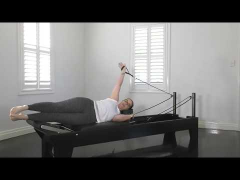 Good Form Pilates Reformer Double Leg Lift