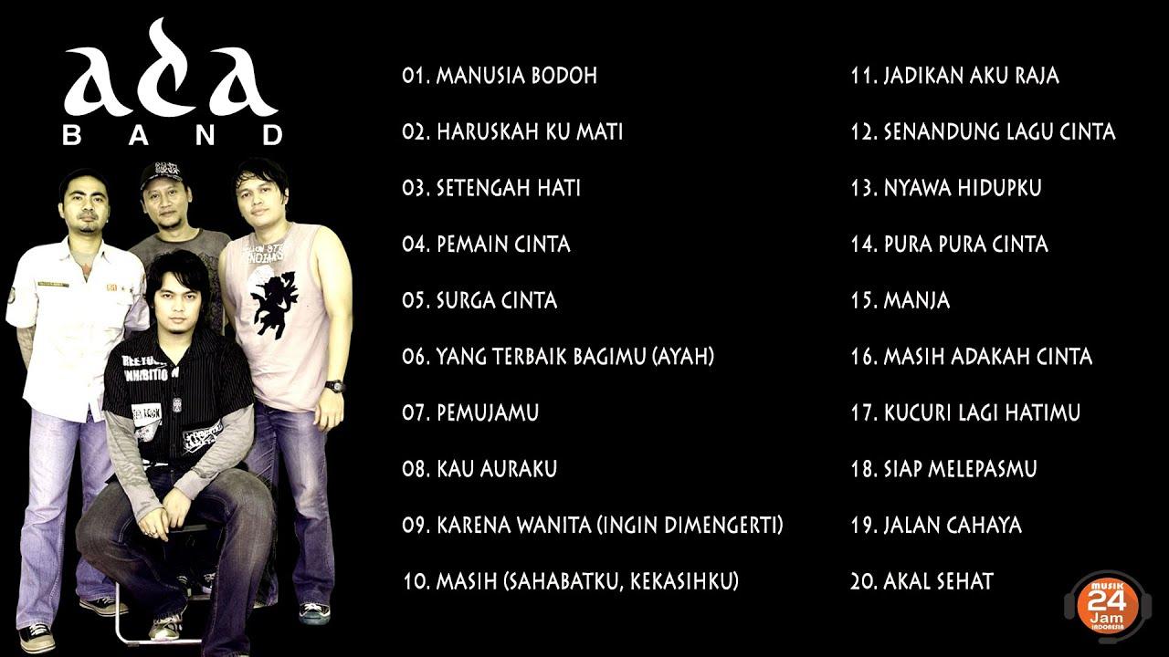 Download ADA BAND FULL ALBUM 🔵 MUSIK 24 JAM INDONESIA