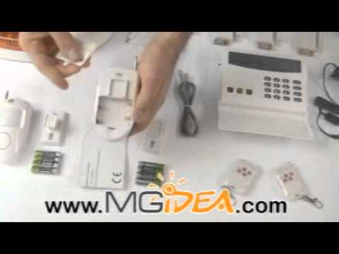 Kit allarme combinatore telefonico pstn wireless versione for Kit allarme filare urmet