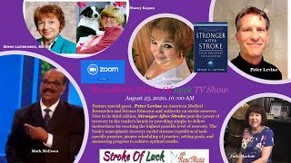 ZOOM BROADCAST -  Stronger After Stroke   August 23, 2020, 10 00 AM ReneMarie Stroke Of Luck TV Show
