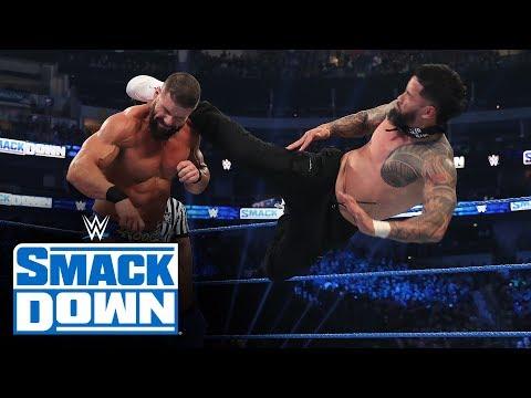 Roman Reigns & The Usos vs. King Corbin, Dolph Ziggler & Robert Roode: SmackDown, Jan. 24, 2020