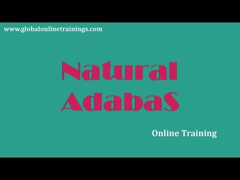 Natural ADABAS TRAINING Demo Video | NATURAL ADABAS ONLINE TRAINING COURSE