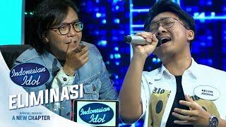 Penampilan Sederhana Kelvin Paling Nyeess Dihati Para Juri - Eleminasi 1 - Indonesian Idol 2021