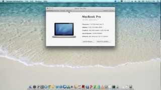 Mac OS X Lion - HP Probook 4530s