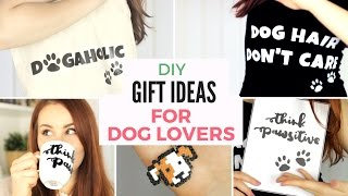 Diy: 5 Last Minute Gift Ideas For Dog Lovers | Christmas, Birthday Or Any Other Occasion!!