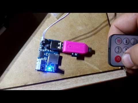 MP3 USB 12V TF Card Decoder Module DC MP3 Decode Board WAV Lossless Decoding Board APE