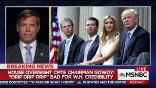Rep. Swalwell on MSNBC discussing Donald Trump Jr. accepting campaign help from a foreign adversary