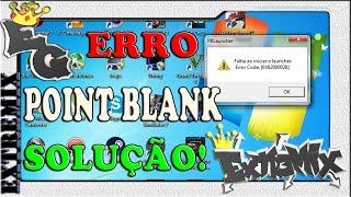 POINT BLANK - ERRO AO CONECTAR-SE AO SERVIDOR. SOLUÇÃO!