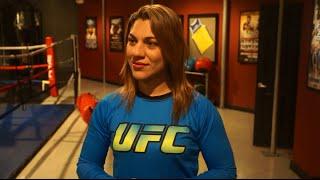 UFC 190: Bethe Corriea Talks The Ultimate Fighter Brazil 4 Semifinals