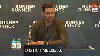 Justin Timberlake - Runner Runner | Press Conference Berlin (2013)
