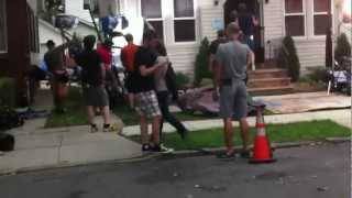 TV show Blue bloods fliming on location in Queens NY