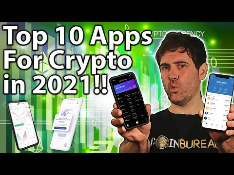 BEST FREE Crypto Apps In 2021! Ultimate Top 10!! 📱