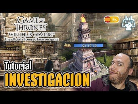 Tutorial Investigacion ⚔️ Game of Thrones: Winter is Coming ⚔️Guía Español thumbnail