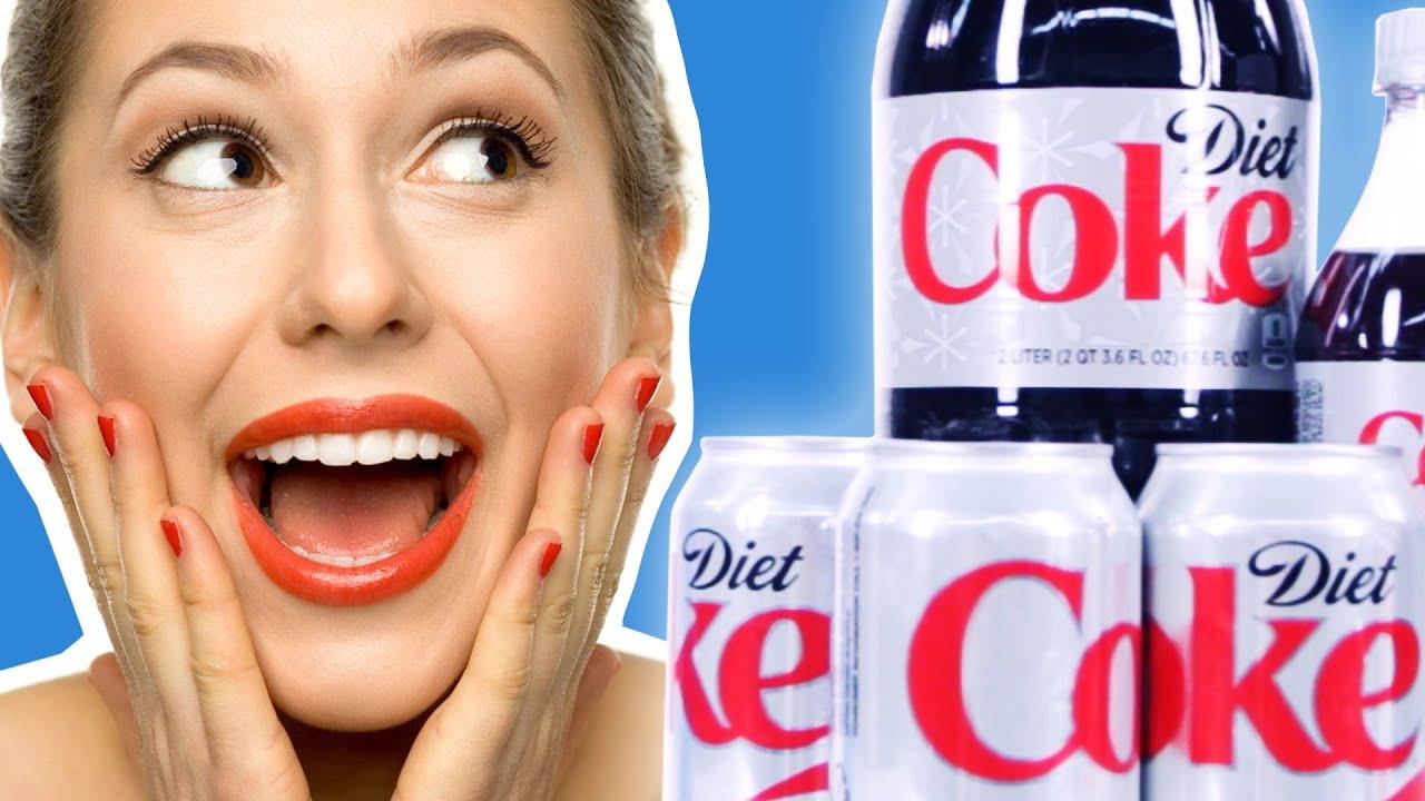 Diet Coke Facial Skin