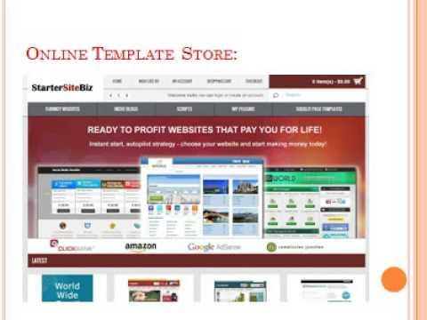 Digital Ecommerce Script, Online Template Store