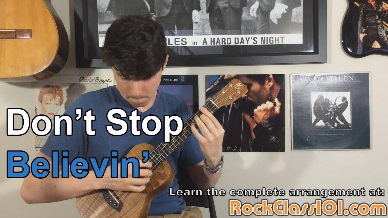 Dont stop believin journey ukulele free lesson youtube dont stop believin journey ukulele free lesson hexwebz Gallery