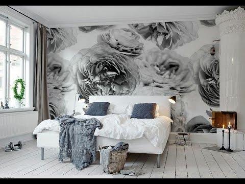 Сочетание цветов в интерьере — полосатые стены