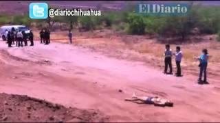 Localizan hombre sin vida y maniatado a la salida a Delicias