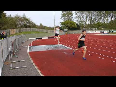 Guernsey Athletics Endurance Open Meeting Steeplechase 26 April 2018