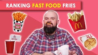 Ranking Fast Food French Fries | Bless Your Rank