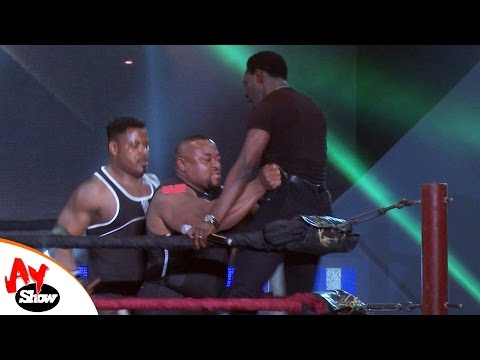 Video: Mr. Ibu, Saka, AY, Mr. Perfect, Ultimate Commander and Tee mac in Wrestling Match