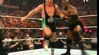 WWE - Batista &  Bobby Lashley & Rey Mysterio vs Mark Henry & King Booker T & Finlay