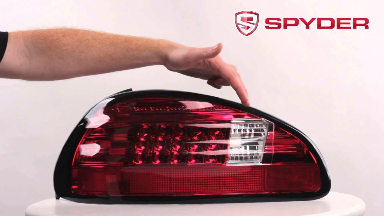 Spyder Auto Product Showcase 1997 2003 Pontiac Grand Prix Led Style Tail Light