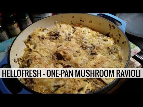 HELLOFRESH – ONE-PAN MUSHROOM RAVIOLI GRATIN