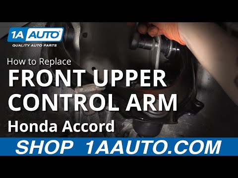 How to Replace Upper Control Arm 03-07 Honda Accord