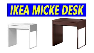 How to Assemble Ikea Micke Desk