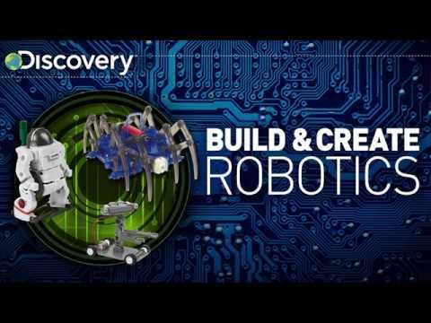 Discovery Build & Create Robotics Kit: Saltwater Powered Robot