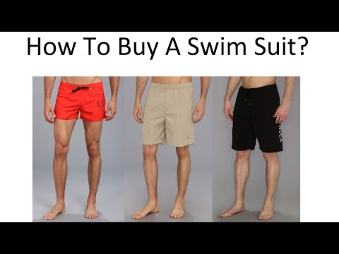 How To Buy A Mens Swimsuit   Mans Swimwear Guide   Swim Suits For Men
