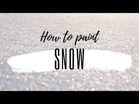 How to Paint 3D Snow // GRAFFITI TUTORIALS