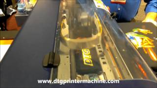Dtg Printer Demonstration - Dtg Viper At Iss Long Beach 2013