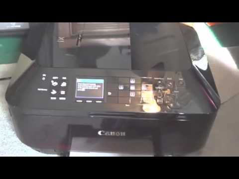 Canon Pixma MX922- Wireless Connection & CD/DVD Label | Doovi