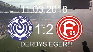 MSV Duisburg - Fortuna Düsseldorf(1:2)|11.03.2018|DERBY SPEKTAKEL AM NIEDERRHEIN!!!!⚽️💥