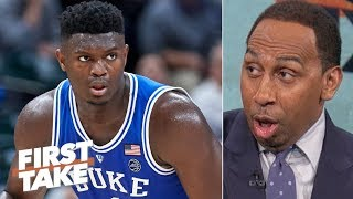 "Stephen A. on Duke's blowout win vs. Kentucky: ""My God"" 