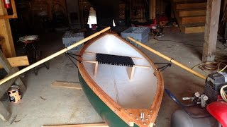 Father, Son Project....Building a Peapod Rowboat...part 1