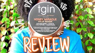 TGIN HONEY MIRACLE HAIR MASK REVIEW Izzy