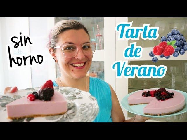 TARTA DE VERANO FÁCIL Y SIN HORNO