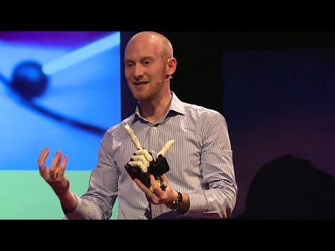 A helping hand with prosthetics: Joel Gibbard at TEDxExeter