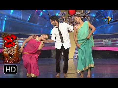 Vinay and Rishika Performance | Dhee Jodi | 7th December 2016| ETV Telugu